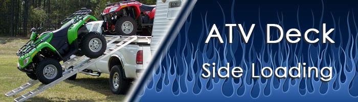 Aluminum Atv Ramps >> ATV Decks - SilverLake Manufacturing